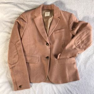 GAP Academy Pink Herringbone blazer.